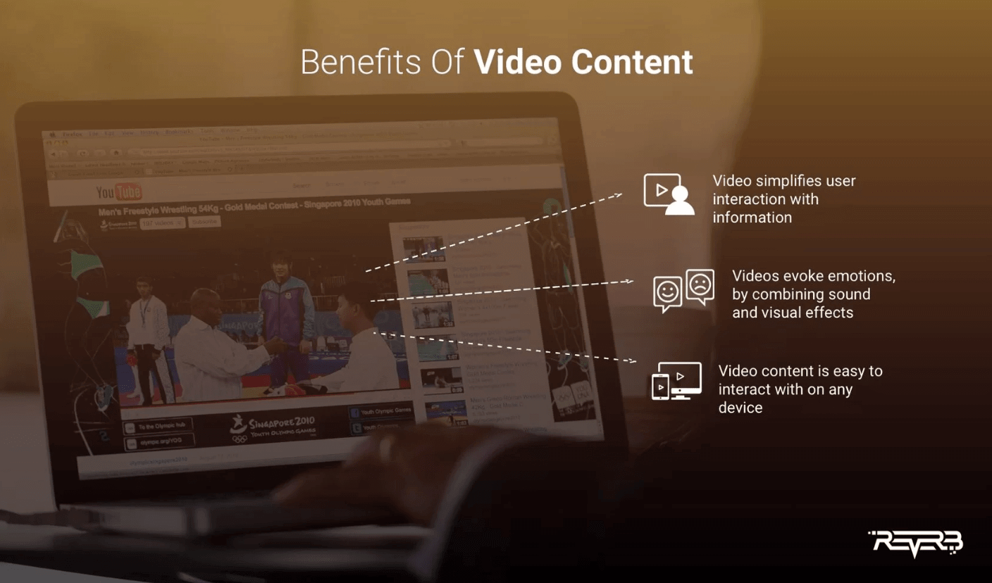 benefits of video content