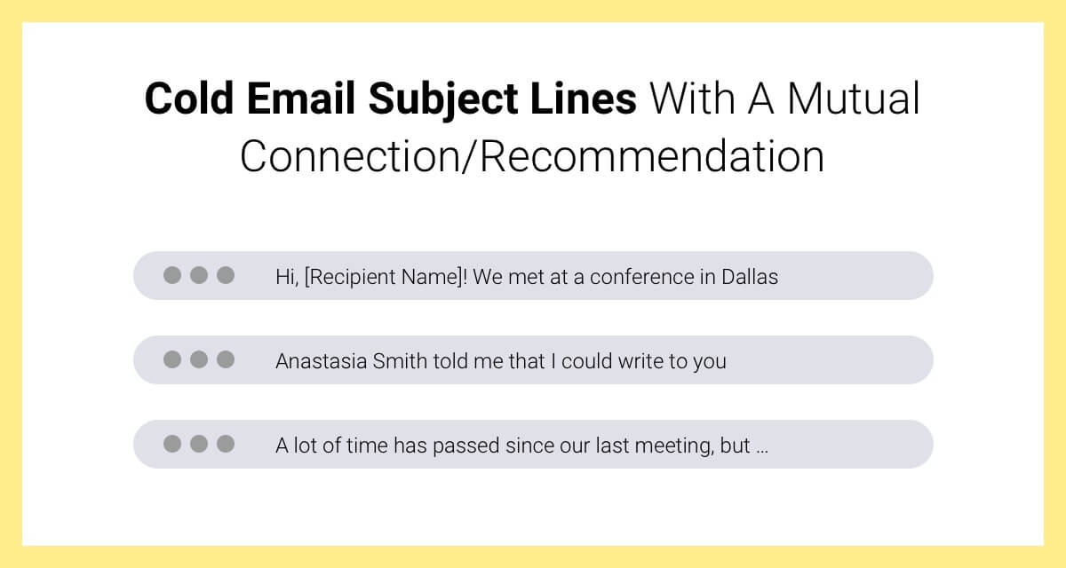 cold email subject line examples