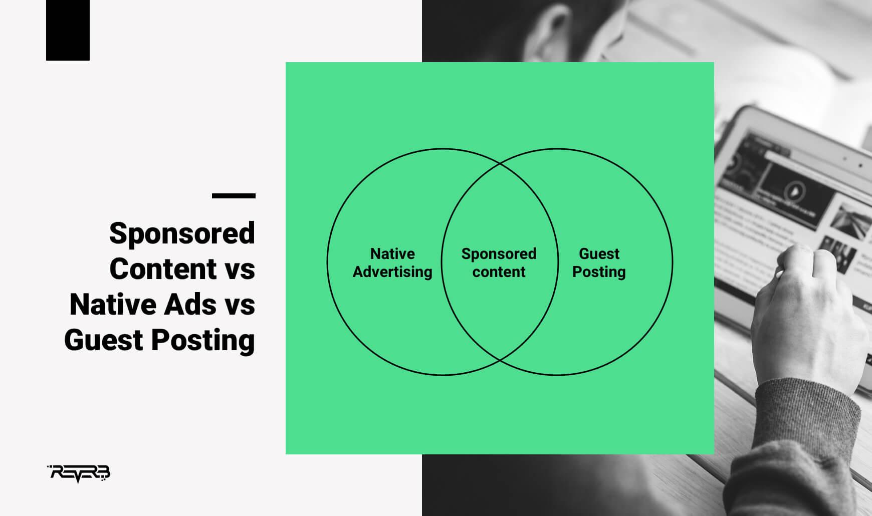 sponsored content vs native ads