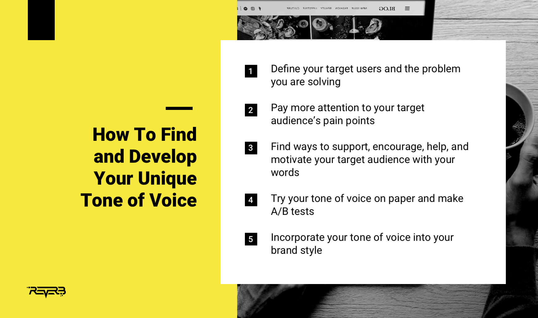 how to define brand tone of voice